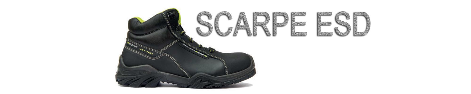 COSA SONO LE SCARPE ESD? Le calzature marcate ESD rispetto alle normali calzature antinfortunistiche dotate della sola marcatura di antistaticità (A), sono elettricamente dissipative e quindi scaricano in continuazione al suolo…